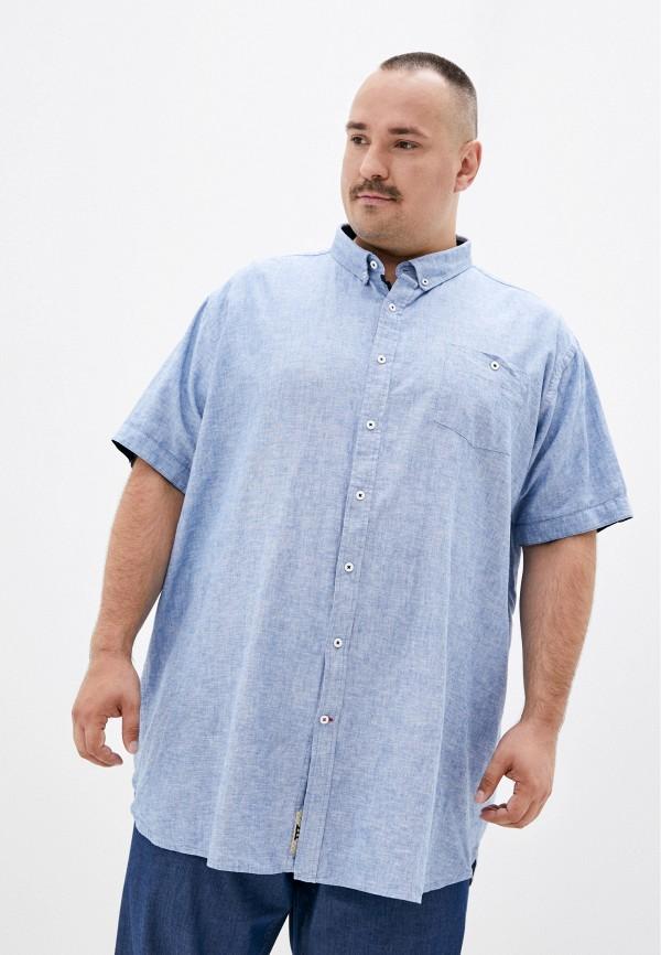 мужская рубашка d555, голубая