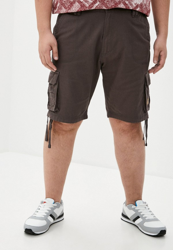 мужские шорты d555, серые