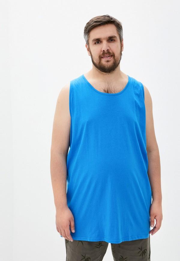 мужская майка d555, синяя