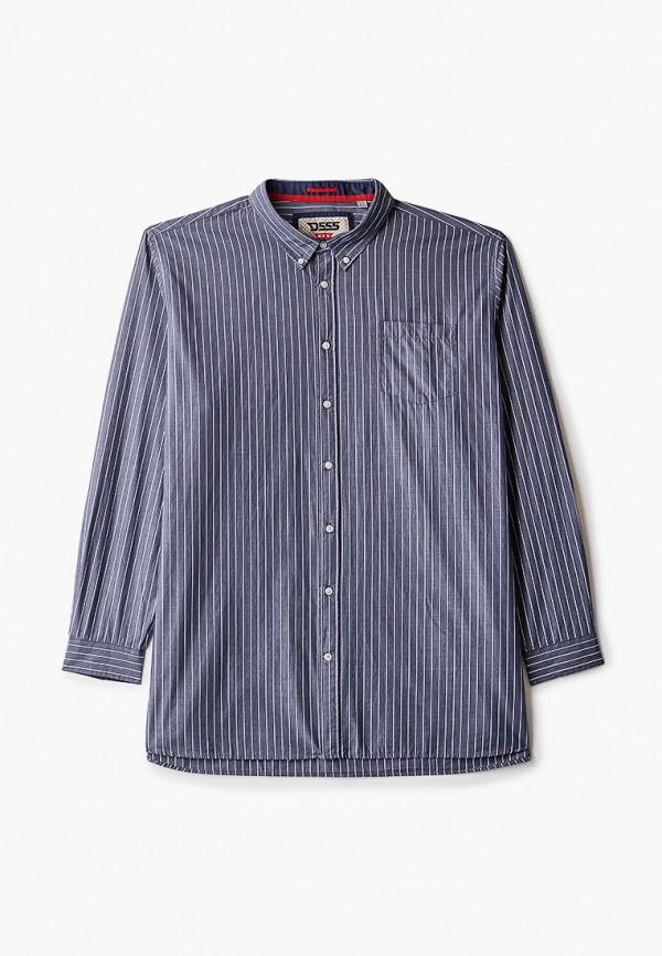 мужская рубашка d555, серая