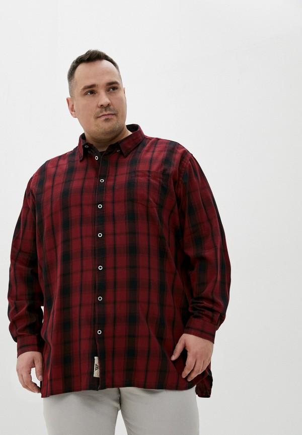 мужская рубашка d555, красная