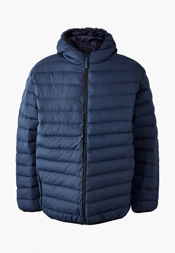 мужская куртка d555, синяя