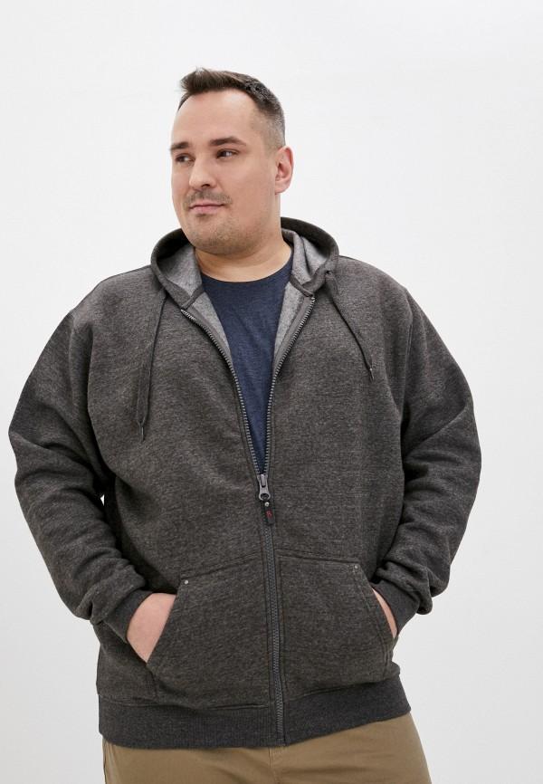 мужская толстовка d555, серая