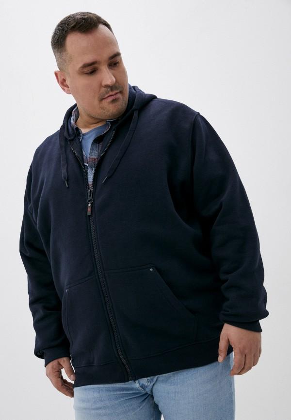мужская толстовка d555, синяя