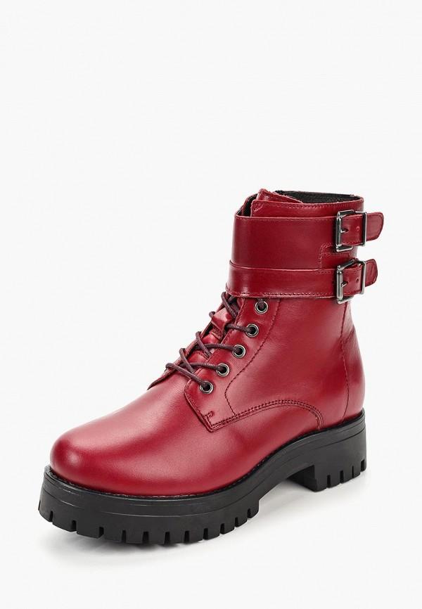 женские ботинки dali, бордовые