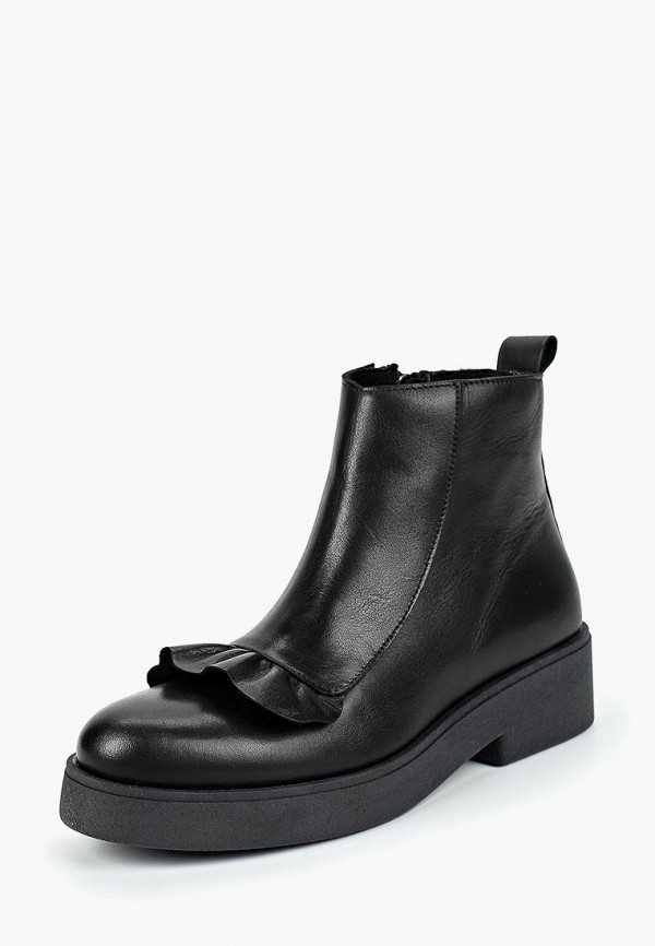 женские высокие ботинки dali, черные