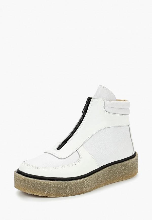 женские ботинки dali, белые