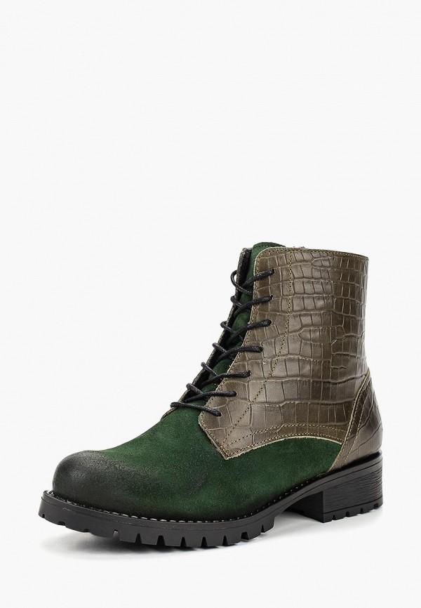 женские ботинки dali, зеленые