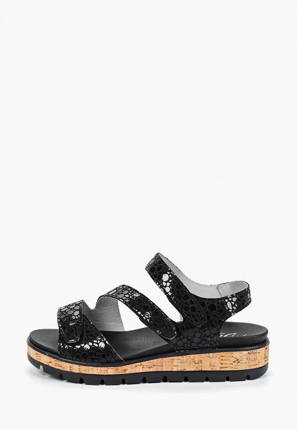 женские сандалии dali, черные