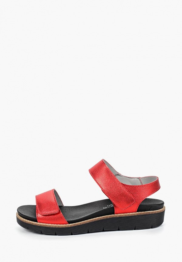 женские сандалии dali, красные