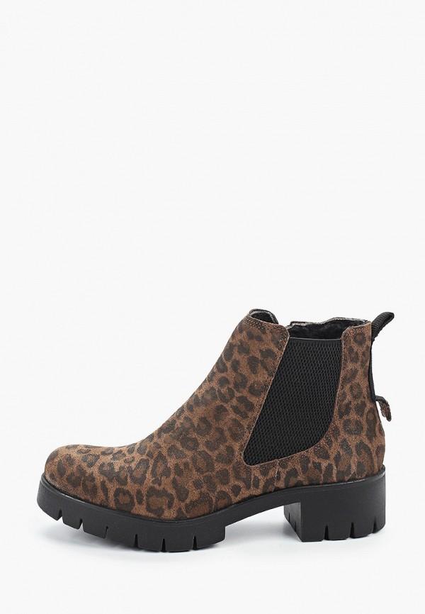 женские низкие ботинки dali, коричневые