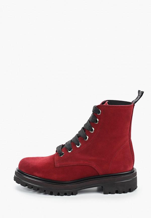 женские высокие ботинки dali, бордовые