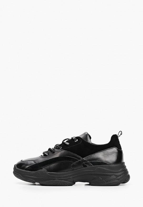 женские низкие кроссовки dali, черные