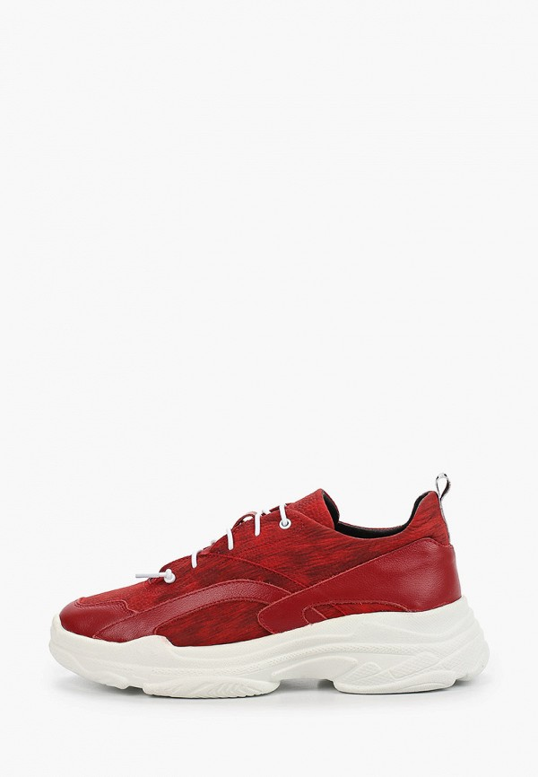 женские низкие кроссовки dali, красные