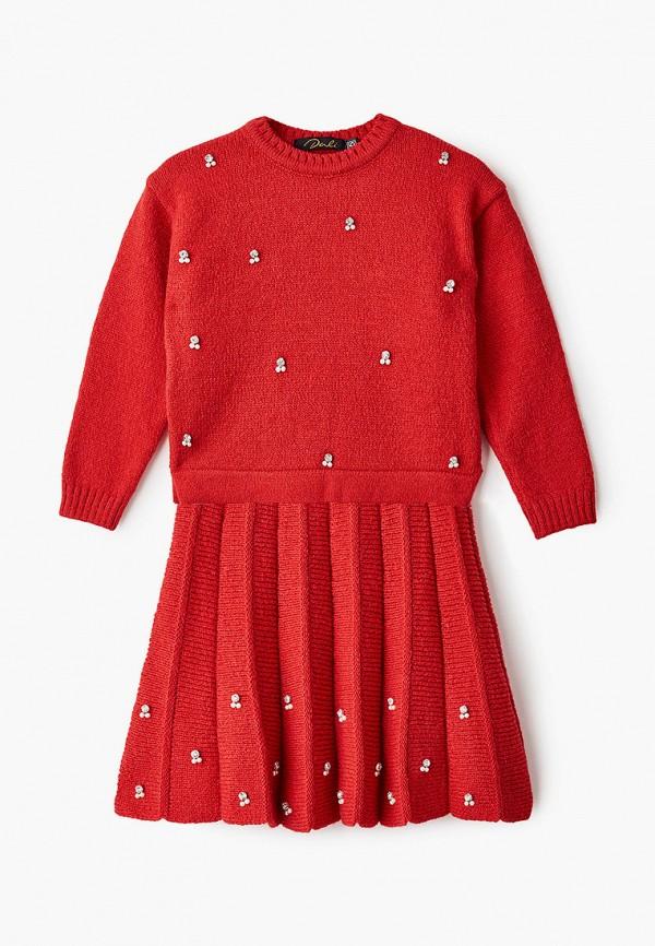 костюм dali для девочки, красный