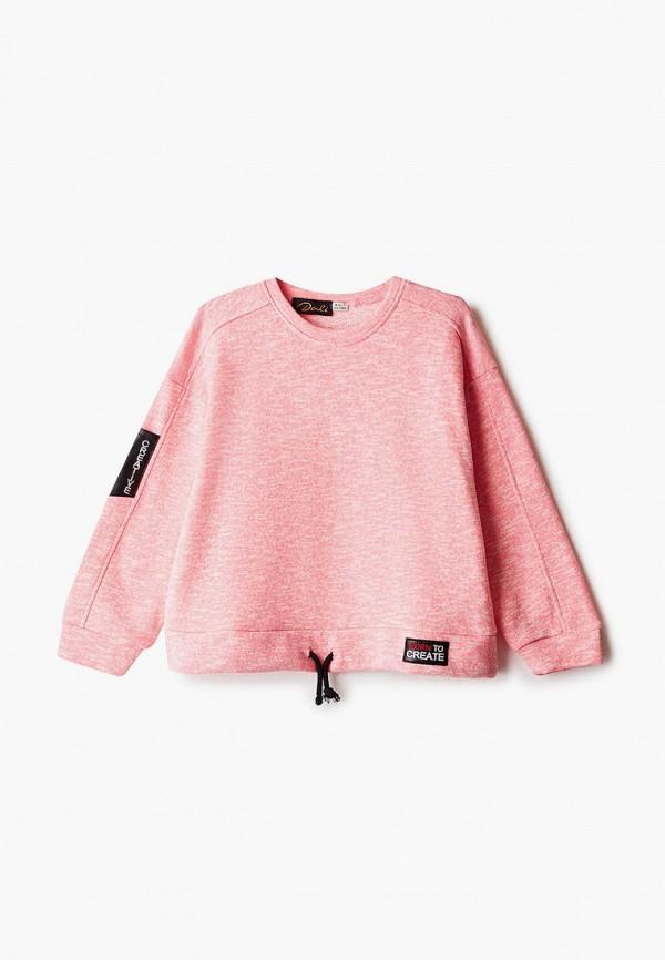 свитшот dali для девочки, розовый