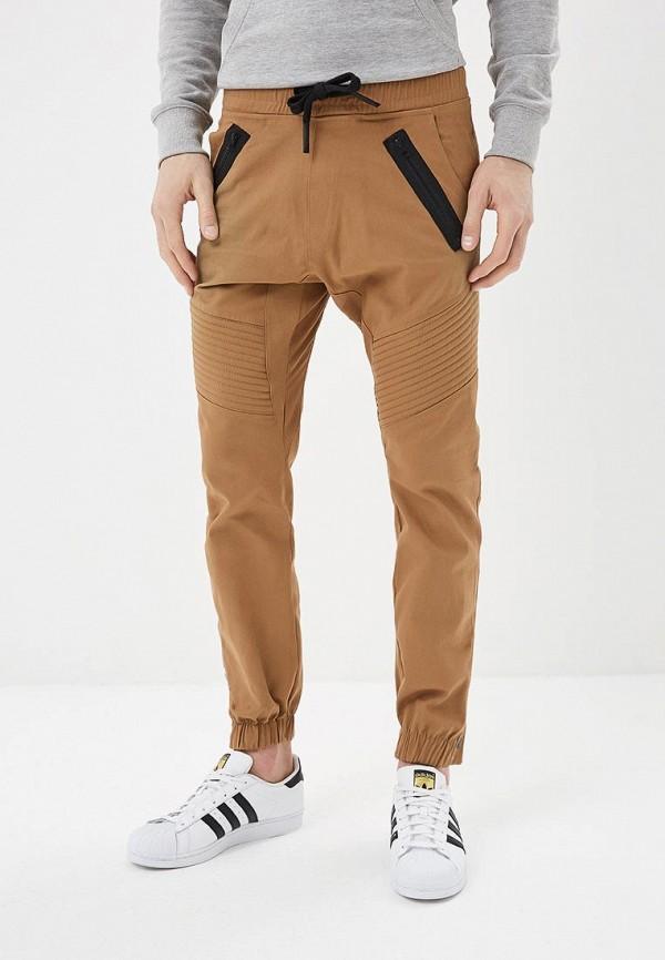 Купить Брюки спортивные Dali коричневого цвета