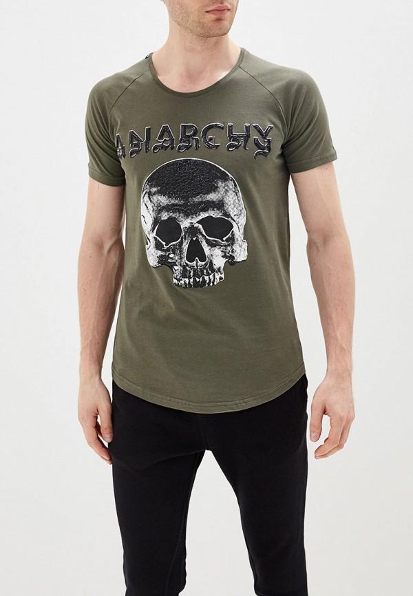 мужская футболка dali, хаки