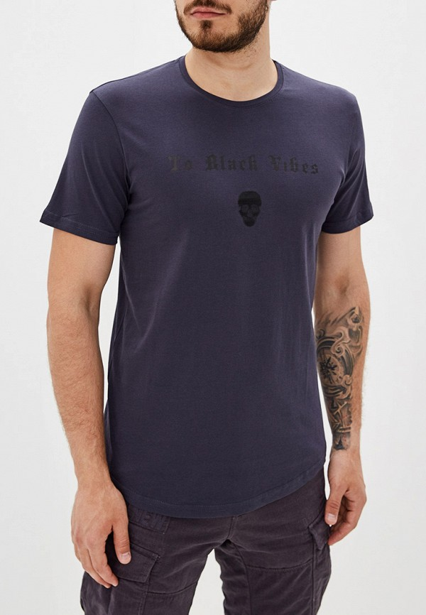 мужская спортивные футболка dali, синяя