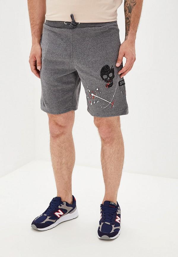 мужские спортивные спортивные шорты dali, серые