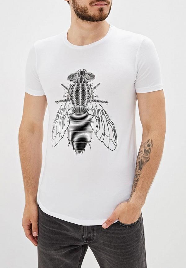 мужская спортивные футболка dali, белая