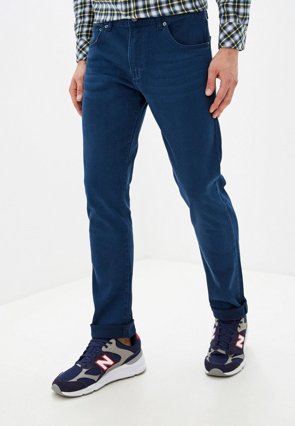 мужские зауженные джинсы dali, синие