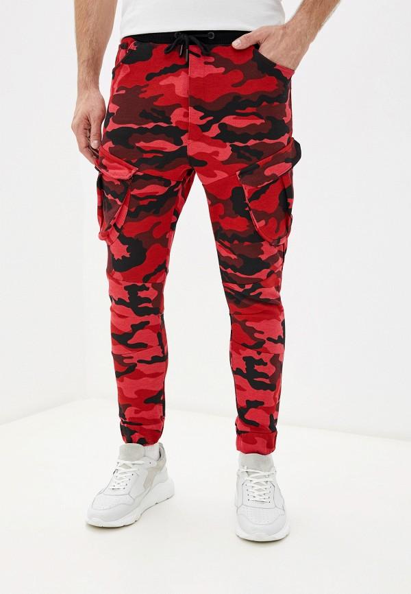 мужские брюки dali, красные