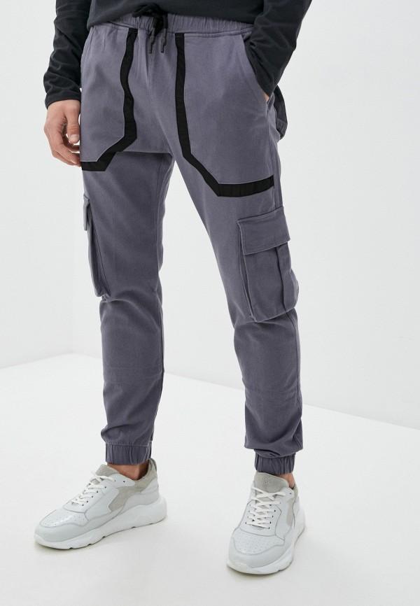 мужские брюки джоггеры dali, серые