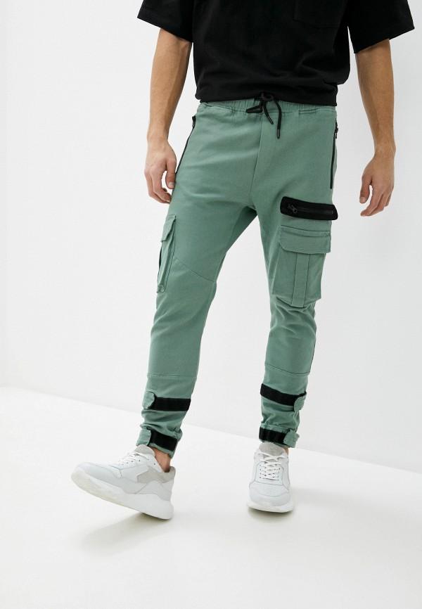 мужские брюки dali, зеленые
