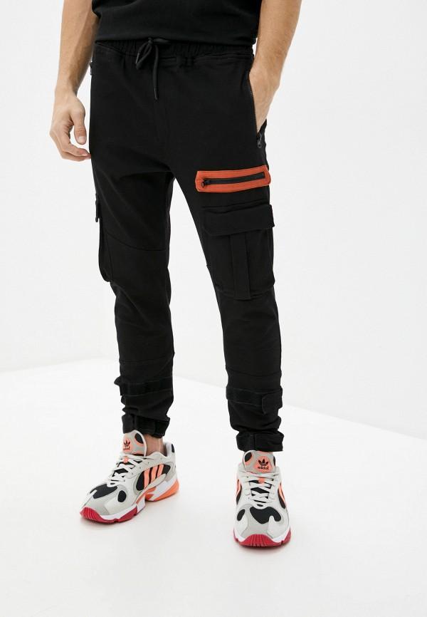 мужские брюки джоггеры dali, черные