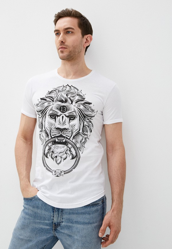 мужская футболка с коротким рукавом dali, разноцветная