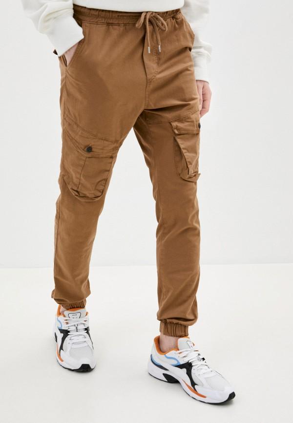 мужские брюки карго dali, коричневые