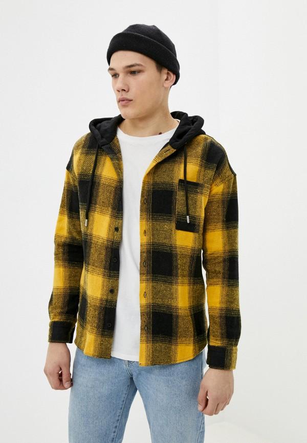 мужская рубашка dali, желтая