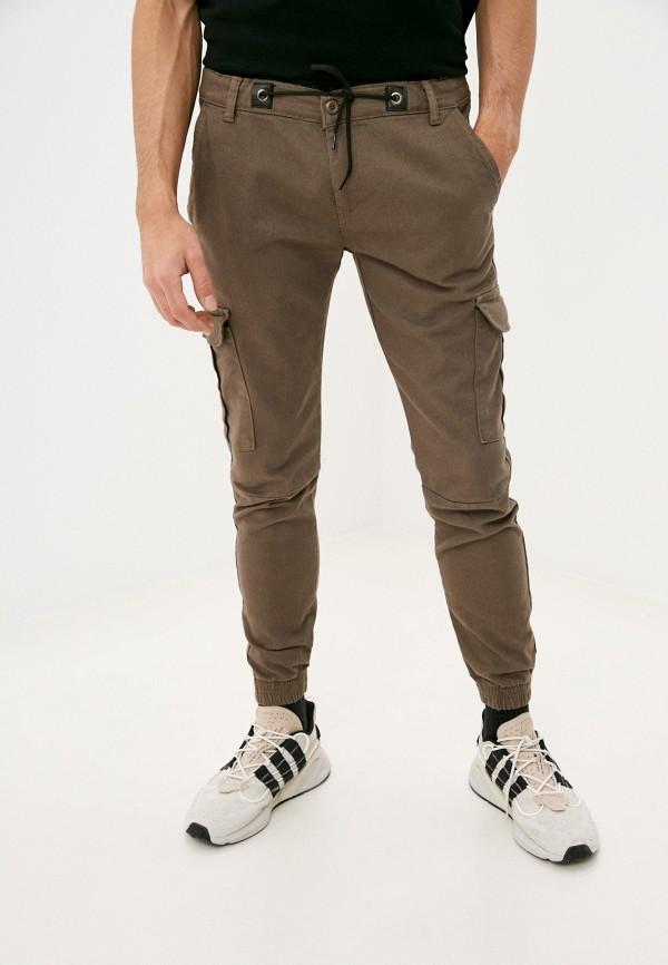 мужские брюки dali, коричневые