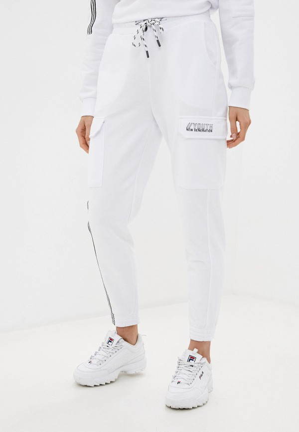 женские спортивные брюки dali, белые