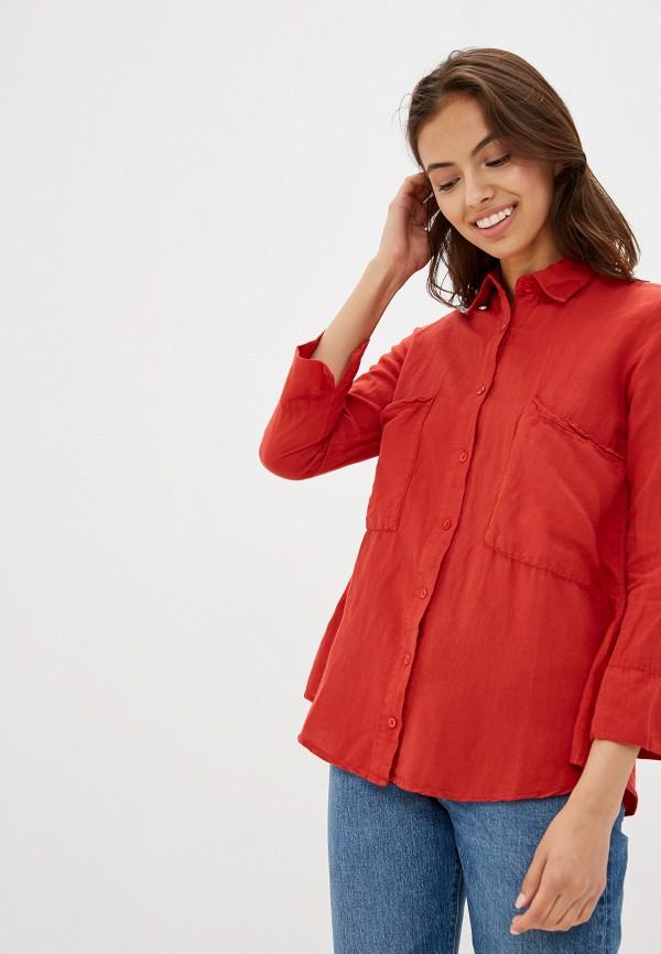 женская спортивные рубашка dali, красная