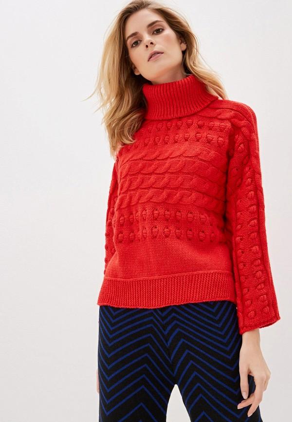 женский свитер dali, красный