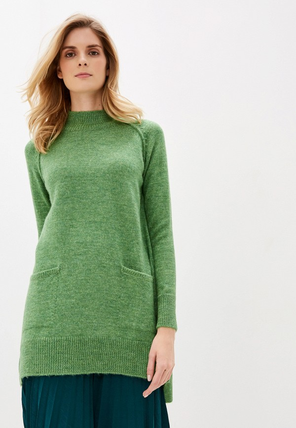 женский свитер dali, зеленый