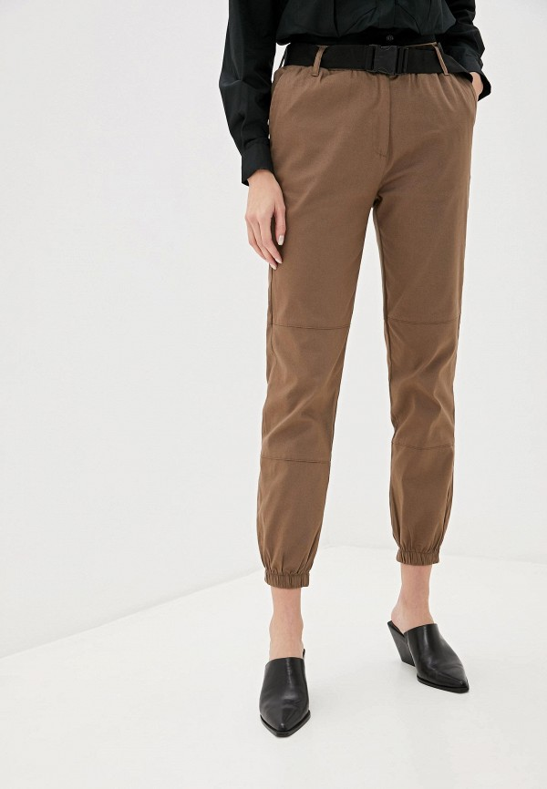 женские брюки dali, коричневые