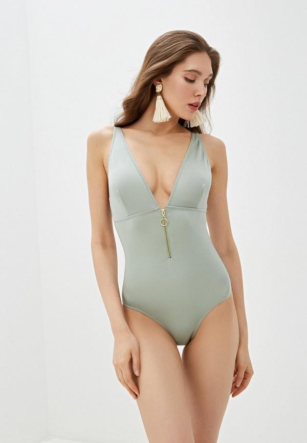 женский купальник dali, зеленый