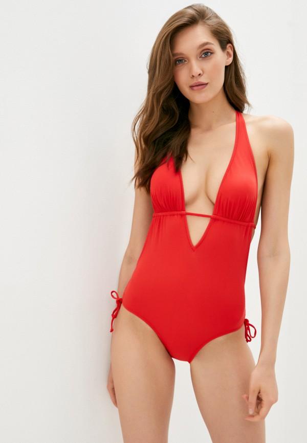 женский купальник dali, красный