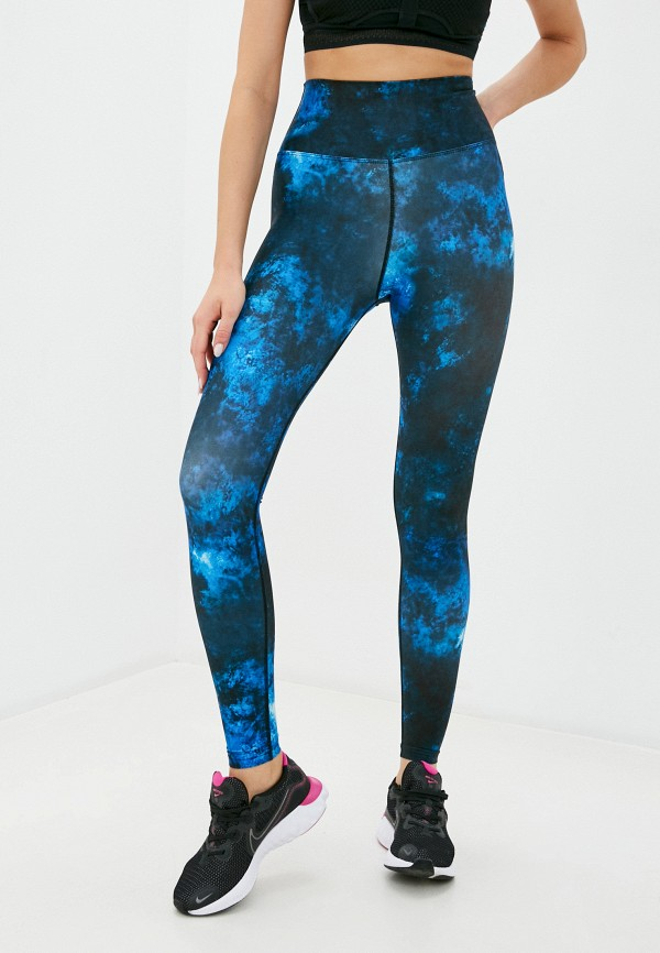 женские спортивные леггинсы dali, синие