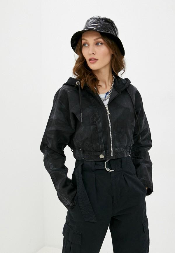 женская куртка dali, черная