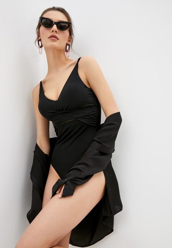 женский купальник dali, черный