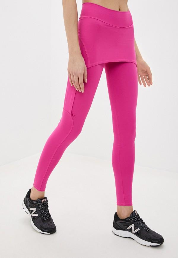 женские спортивные леггинсы dali, розовые