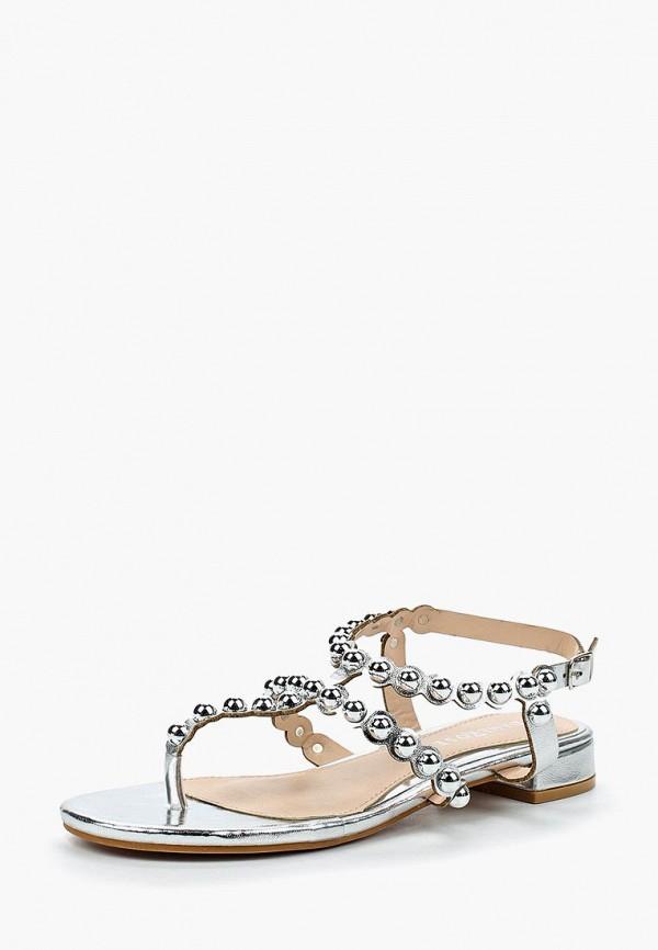 женские сандалии damerose, серебряные