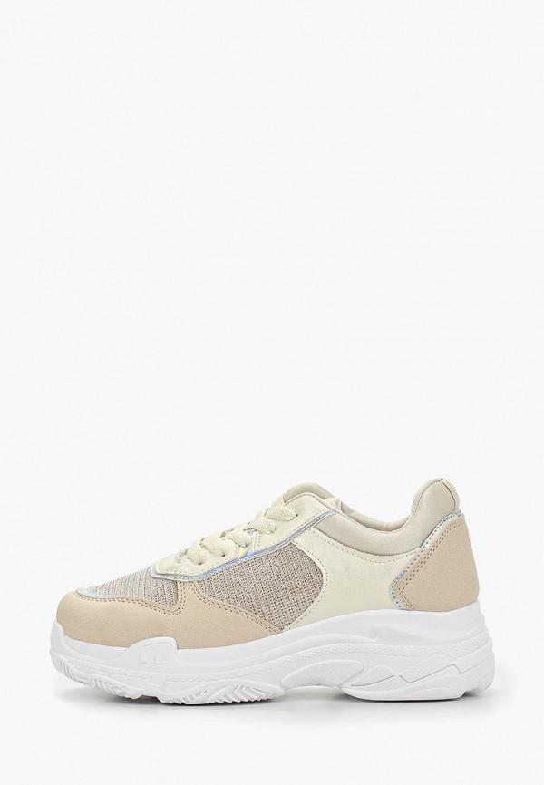 женские кроссовки damerose, бежевые