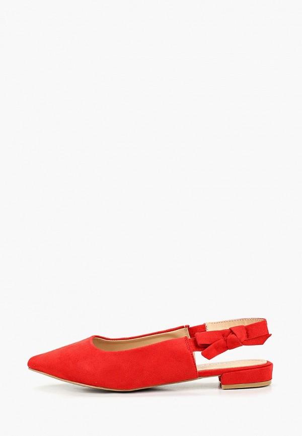 женские туфли damerose, красные
