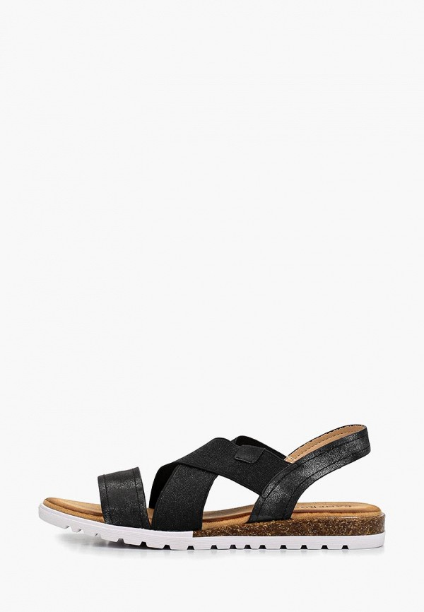 женские сандалии damerose, черные