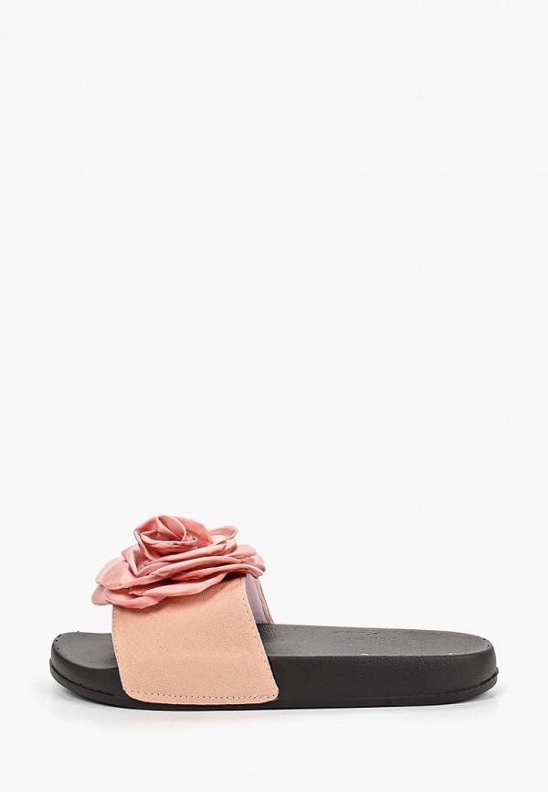 женское сабо damerose, розовое